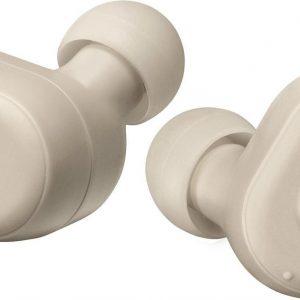 JVC HA-A11T-T - Draadloze Bluetooth sport hoofdtelefoon - Grijs