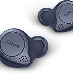 Jabra Elite Active 75t - True Wireless Sportoordopjes met Wireless Charging - Blauw