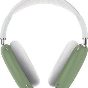 KELERINO. Siliconen Case geschikt voor AirPods Max - Accessoire - Groen