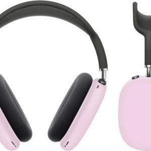 KELERINO. Siliconen Case geschikt voor AirPods Max - Accessoire - Roze