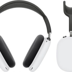 KELERINO. Siliconen Case geschikt voor AirPods Max - Accessoire - Wit