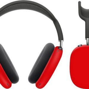 KELERINO. Siliconen Cover Case voor Airpods Max - Rood