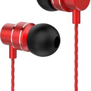 Lenovo HF118 Metal In-Ear Headphones - Rood