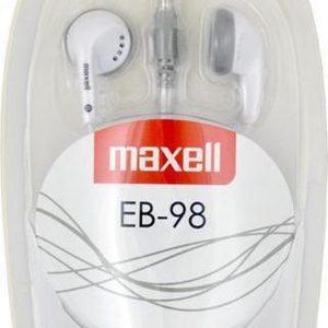 Maxell EB-98 Stereo Earphones kleur Wit