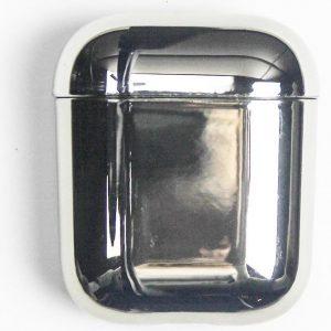 Mirror - AirPods Case - Metallic - Zilver - AirPods 1 en 2