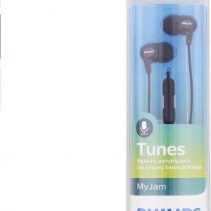 Philips Oortjes In-ear Zwart Bass 3,5 mm jack Bedieningspedaal & Microfoon My Jam SHE3555BK/00