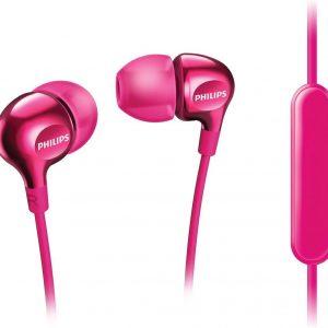 Philips SHE3705PK/00 hoofdtelefoon met microfoon - stereofonisch - In-ear - Roze