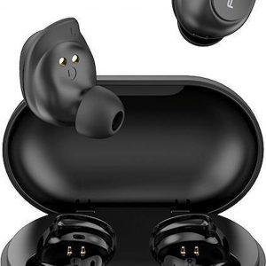 QCY T9 - TWS True Wireless Stereo - Draadloze Oordopjes - BT Oortelefoon - Bluetooth - Microfoon - V5.0 - Zwart
