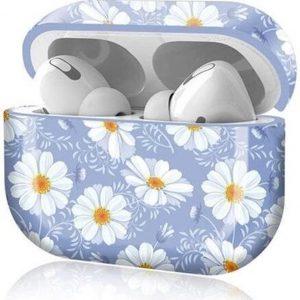 Shieldcase Bloom Beauty Case geschikt voor Airpods Pro case - lichtpaars