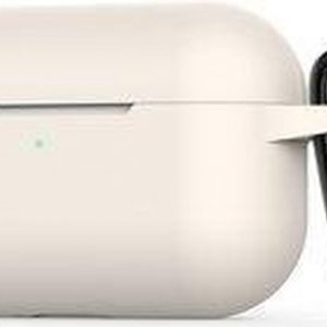 Shieldcase Case geschikt voor Airpods Pro silicone case - Beige