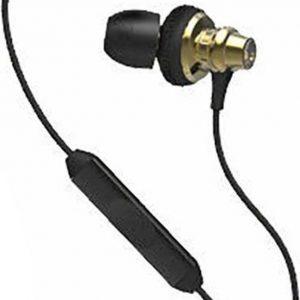 Skullcandy Heavy Medal - In-ear oordopjes met Mic voor iPod/iPhone/iPad - Goud/Zwart