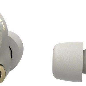Sony WF-1000XM4 - Volledig draadloze oordopjes met Noise Cancelling - Zilver