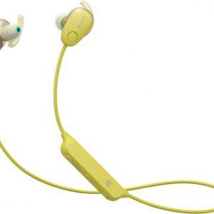 Sony WI-SP600N - Draadloze oordopjes - Geel