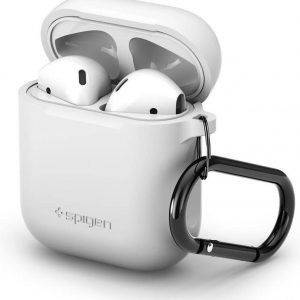 Spigen Silicone Case voor Apple AirPods - Wit