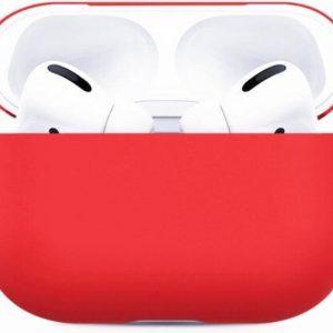 Studio Air® AirPods Pro Hoesje Rood - Soft Case - Siliconen hoesje geschikt voor Apple AirPods Pro