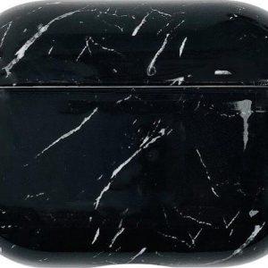 Studio Air® Airpods Pro Case - Marmer Zwart - Stevig hoesje geschikt voor Apple AirPods Pro