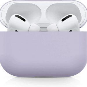 Studio Air® Airpods Pro Hoesje - Lila - Soft Case - Siliconen hoesje geschikt voor Apple AirPods Pro