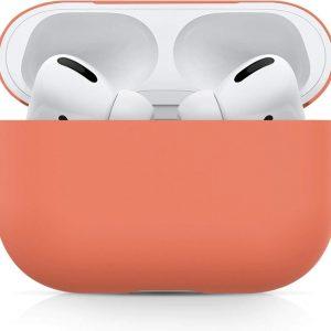 Studio Air® Airpods Pro Hoesje - Peach - Soft Case - Siliconen hoesje geschikt voor Apple AirPods Pro