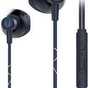 UiiSii HM12 - In Eat Oordopjes - Oortjes met draad en microfoon - 120cm 3,5mm Audiokabel - Blauw