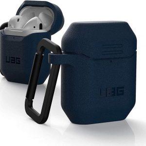 Urban Armor Gear Apple AirPods Hoesje Hard Case Blauw