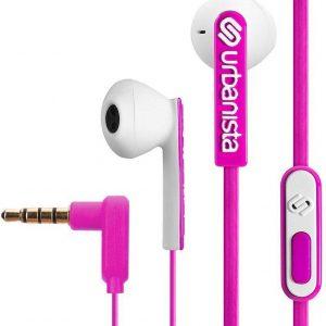 Urbanista San Francisco oortjes earphones - Roze