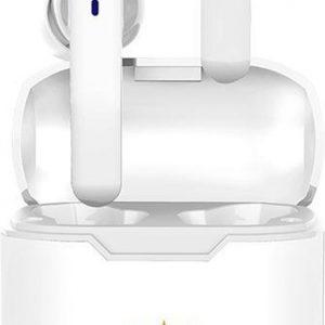 draadloze oordopjes - airpods alternatief - bluetooth oordopjes - wireless earbuds - headset In-Ear - draadloze oortjes - koptelefoons - Wit - LuxeRoyal - Volledig draadloze oordopjes