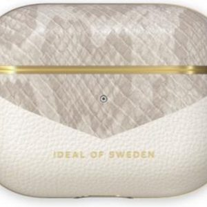 iDeal of Sweden AirPods Case PU voor Pro Pearl Python